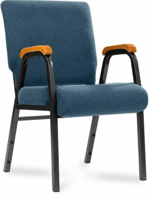 Cadeira de Auditório com Braço Valor Pirambóia - Cadeira para Auditório com Braço
