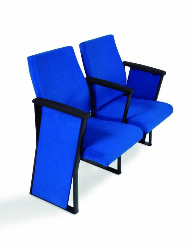 Cadeira de Auditório com Braço Vila Marcelo - Cadeira para Auditório com Braço