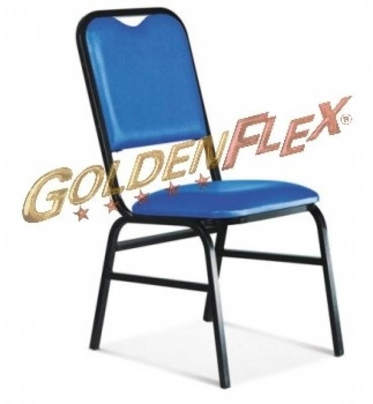 Cadeira Empilhável para Hotelaria Água Branca - Cadeira Empilhável para Igreja