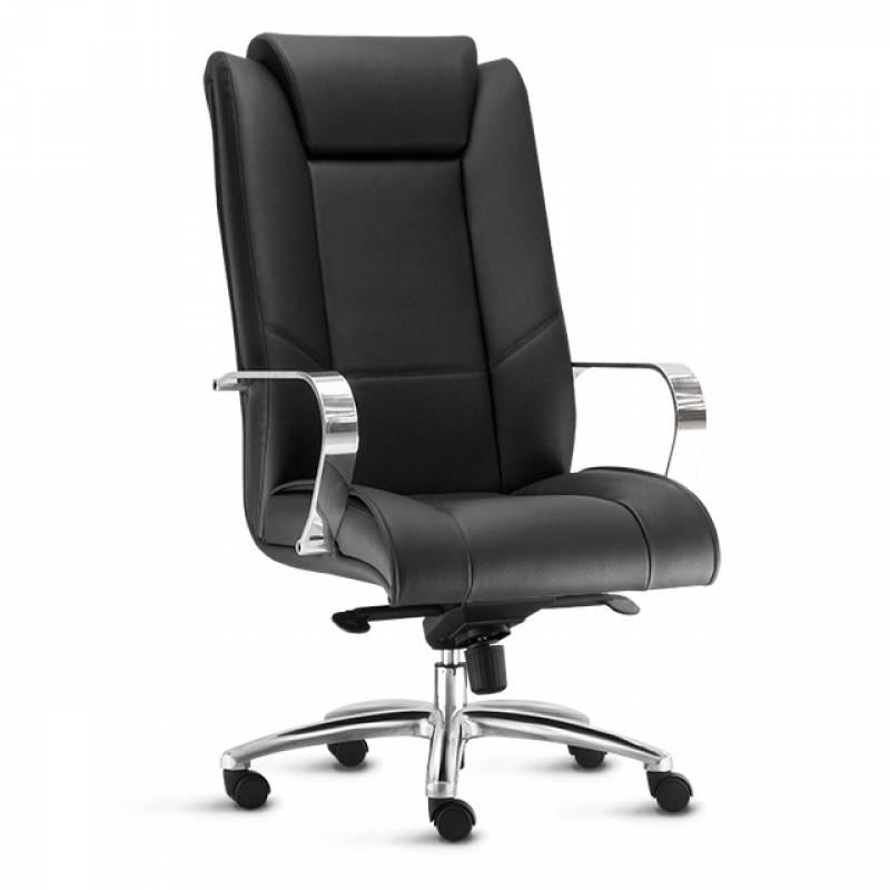 Cadeira Escritório Presidente Preço Jd da Conquista - Cadeira para Escritório com Rodinhas