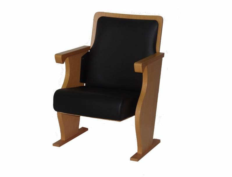 Cadeira Estofada Auditório Preço Sumaré - Cadeira para Auditório com Braço