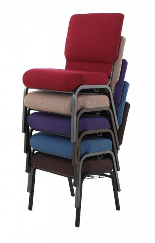 Cadeira Estofada Auditório Santa Isabel - Cadeira para Auditório com Braço