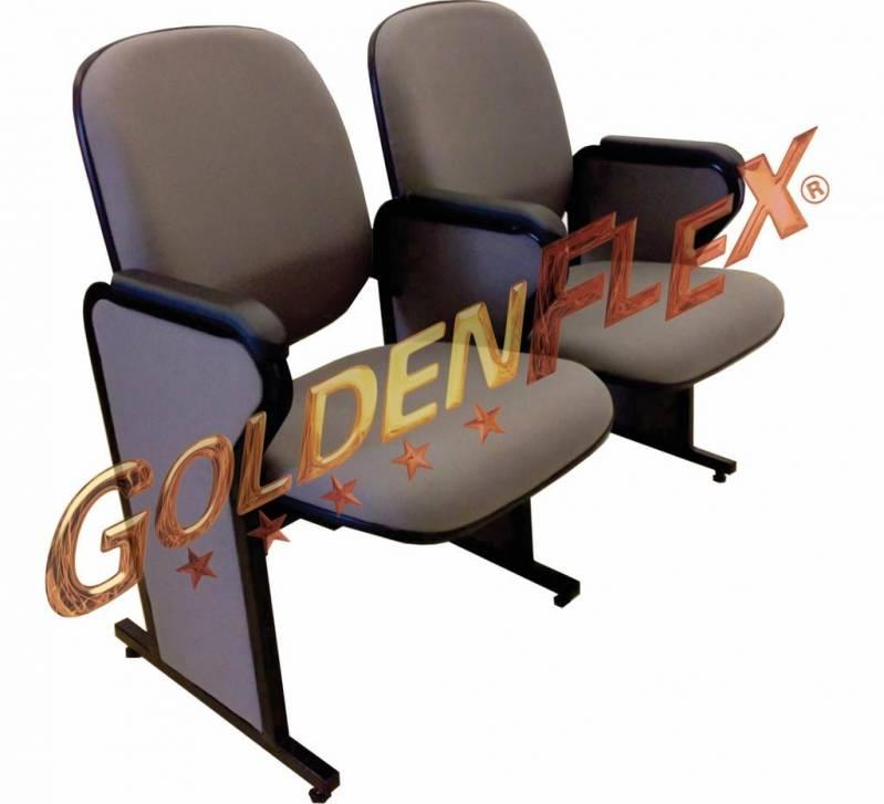Cadeira Fixa Auditório Valor Jardim Santa Helena - Cadeira para Auditório Estofada
