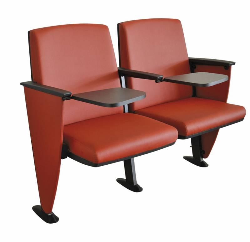 Cadeira para Auditório com Prancheta Escamoteável Praia Grande - Cadeira para Auditório com Braço