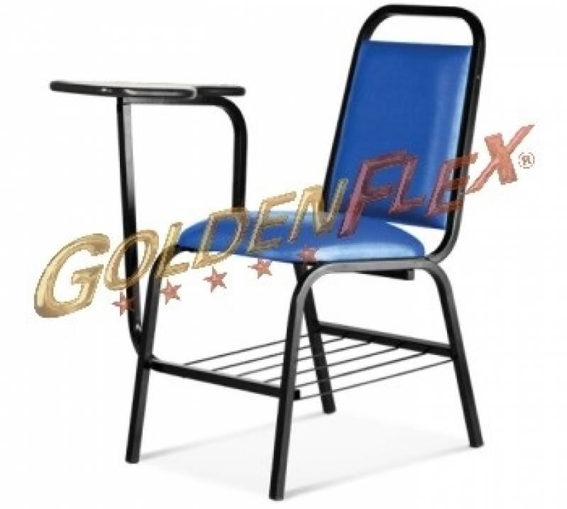 Cadeira para Auditório com Prancheta Valor Jardim Santa Helena - Cadeira para Auditório com Braço