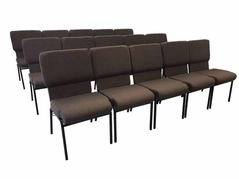 Cadeira para Auditório Estofada Preço Campo Limpo - Cadeira para Auditório com Braço