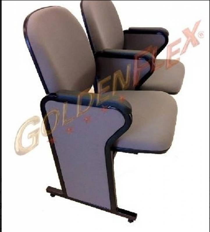 Cadeira para Auditório Estofada Valor Casa Verde - Cadeira para Auditório com Braço