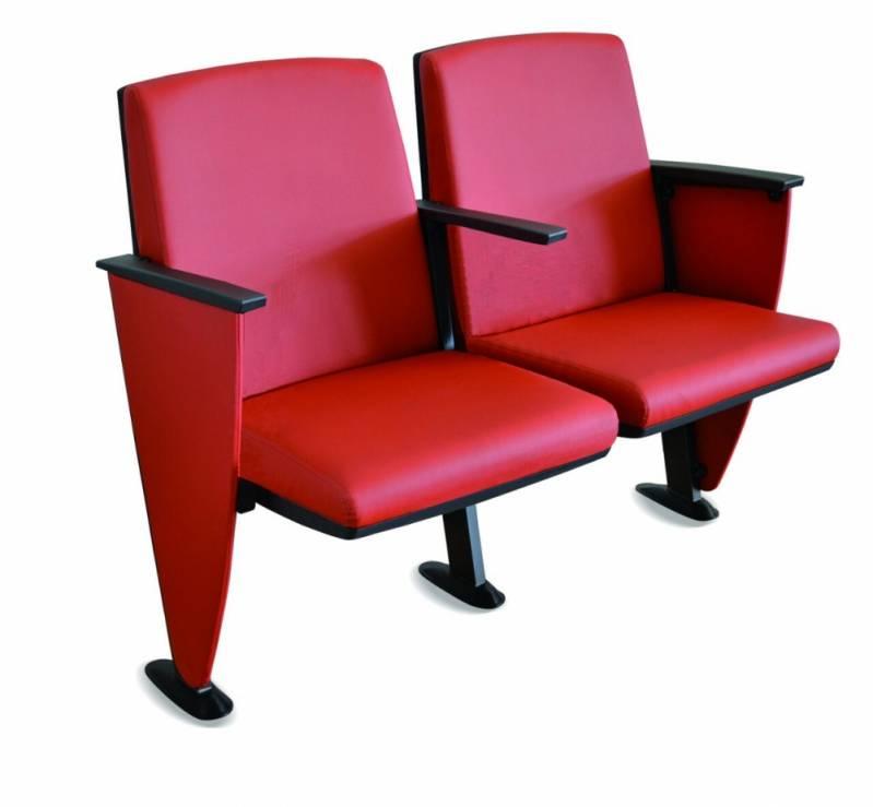 Onde Encontro Cadeira Estofada Auditório Santo André - Cadeira para Auditório com Braço