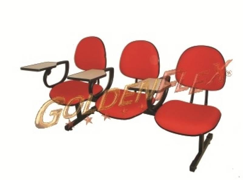 Quanto Custa Cadeira para Auditório com Prancheta Escamoteável Vila Buarque - Cadeira para Auditório com Braço
