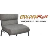 cadeira empilhável estofada para cassinos preço Parque São Domingos