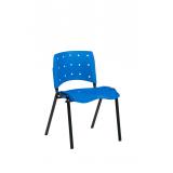 cadeira fixa de plástico